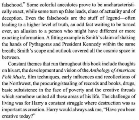 Harry lavender essay