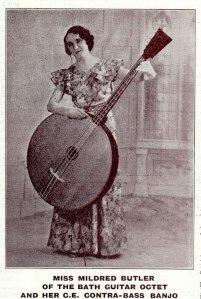 huge banjo