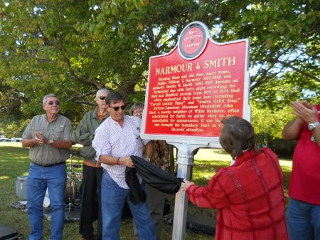 Narmour and Smith Marker unveiled